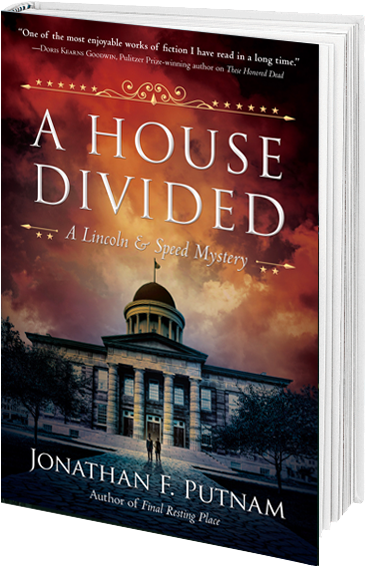 book cover for A House Divided